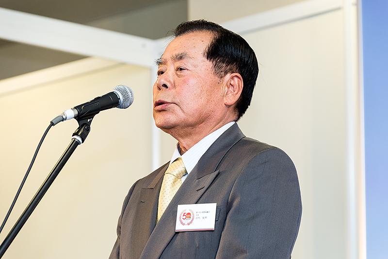 富士北山開発協議会 会長 田代紀明氏