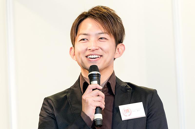 平手晃平選手「クルマの楽しさをたくさん伝えていきたい」