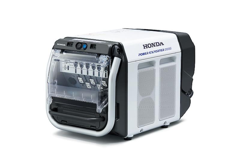可搬型外部給電器「Power Exporter 9000」
