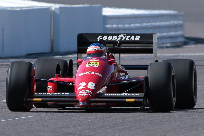 ジャンがドライブしたフェラーリ F187