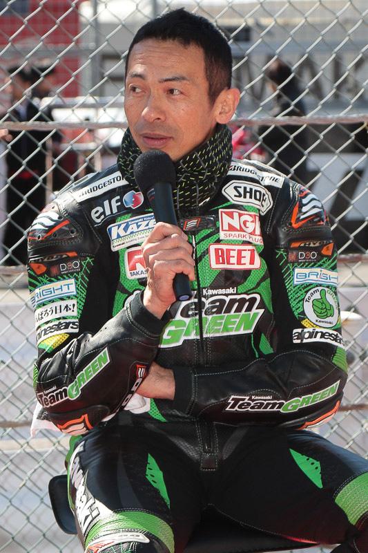 柳川明選手
