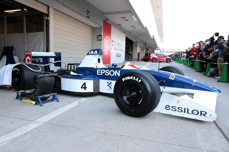ジュリアーノ・アレジ選手がドライブしたティレル019