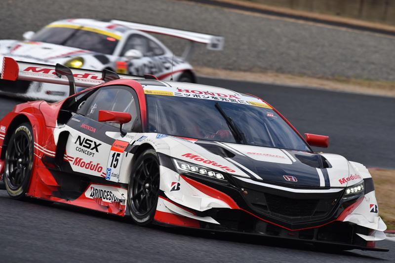大幅な変更が行なわれたNSX CONCEPT-GT。2016年、GT500での活躍が期待される1台