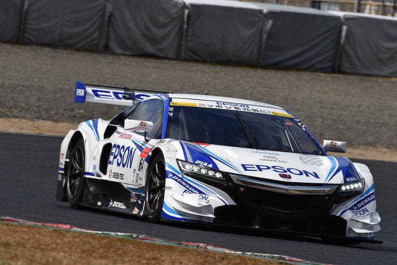 岡山テストに登場したホンダのGT500車両