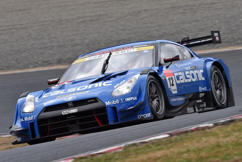 岡山テストに登場した日産のGT500車両