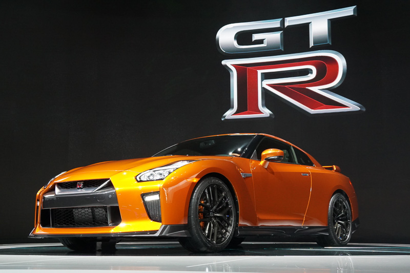 ビッグマイナーチェンジした「GT-R」の2017年モデル