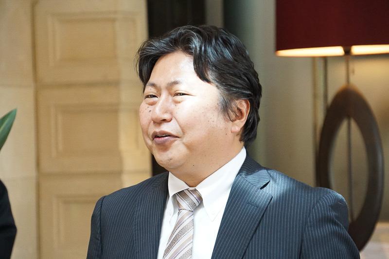 株式会社マネーパートナーズ 代表取締役社長 奥山泰全氏