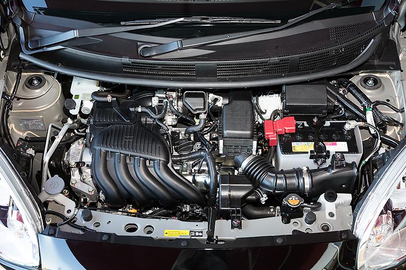 最高出力の発生を7200rpmとした直列4気筒DOHC 1.6リッター「HR16DE」