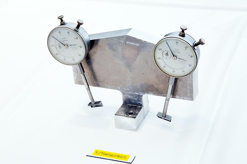 計測治具を使ってバルブタイミングも最適化