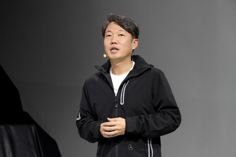 メルセデス・ベンツ日本株式会社 代表取締役社長兼CEOの上野金太郎氏