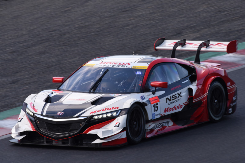 Drago Modulo Honda Racingが走らせる15号車 ドラゴ モデューロ NSX CONCEPT-GT