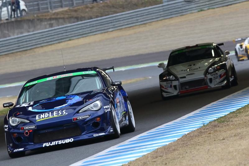 クラス優勝を果たした「ENDLESS・ADVAN・86」をはじめ表彰台をトヨタ 86勢が独占した