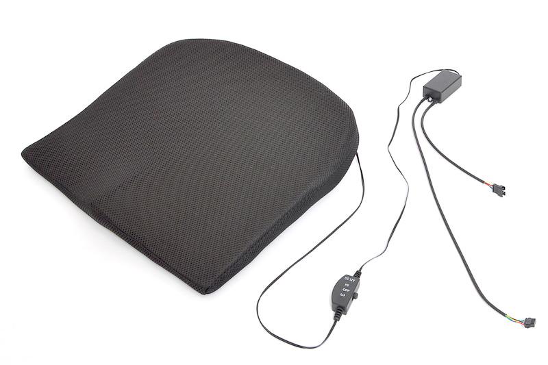 クッションが振動して居眠りを防止する「アイキャッチプリクラッシュアラーム用振動クッション」