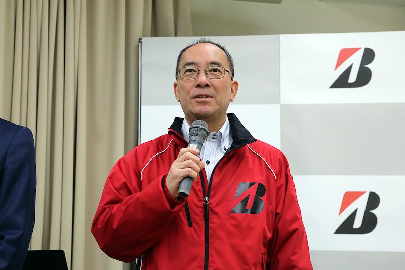 株式会社ブリヂストン フェロー 経営企画本部 技術スポークスパーソン 原秀男氏