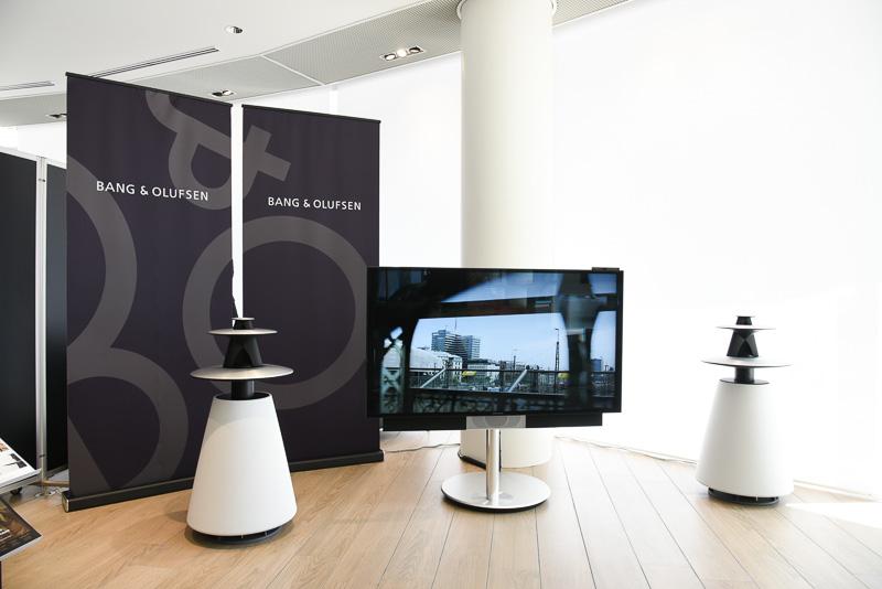 こちらはアウディに採用されているデンマークのオーディオメーカー「B&O」のホーム製品