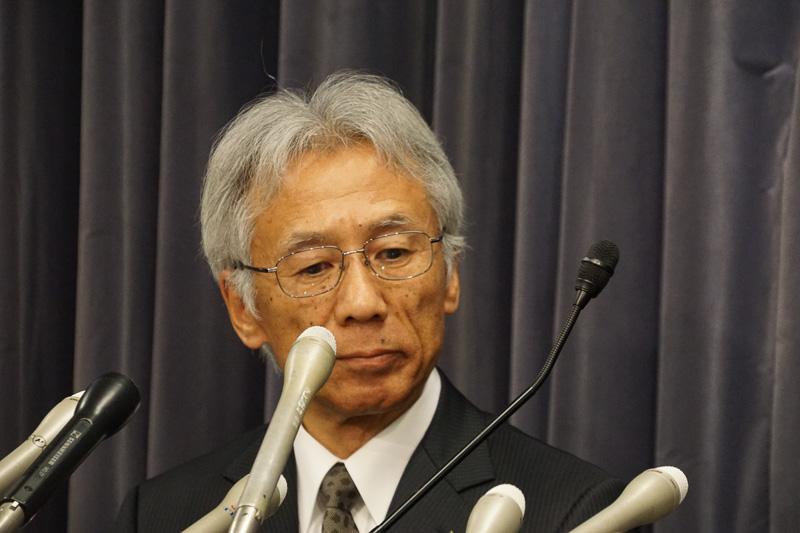 品質統括部長と開発担当の三菱自動車工業株式会社 取締役副社長 中尾龍吾氏