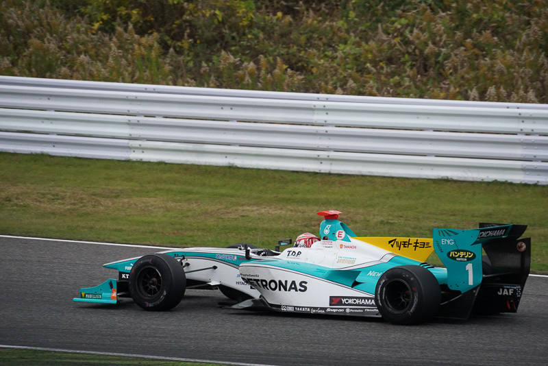 2012年、2014年のチャンピオンである中嶋一貴選手