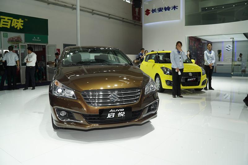 中国市場で販売しているCセグメントセダン「アリビオ」