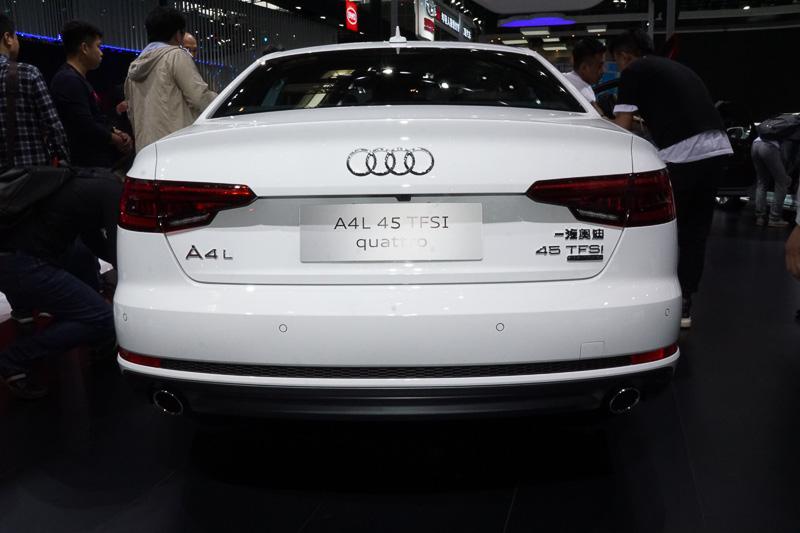 「A4」セダンのロングホイールベースモデル「A4 L」
