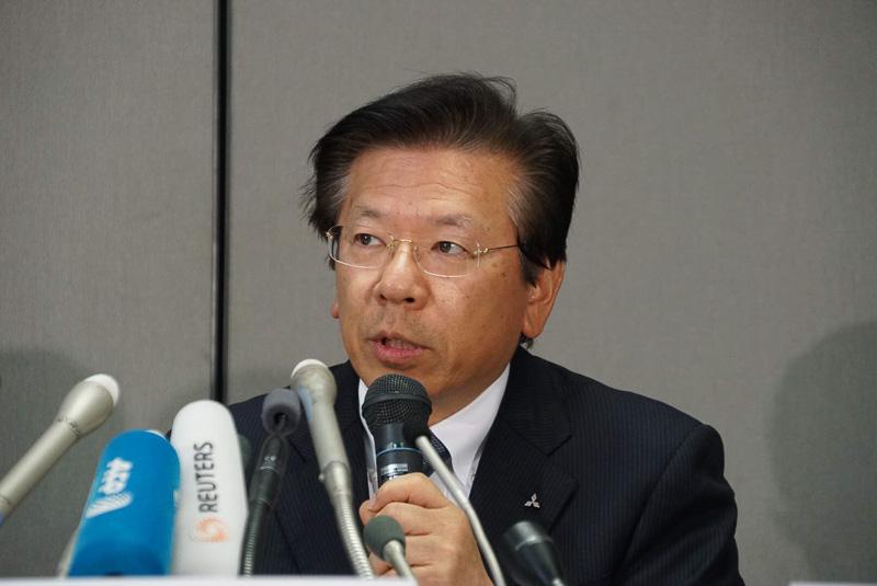 三菱自動車工業株式会社 取締役社長兼COO 相川哲郎氏