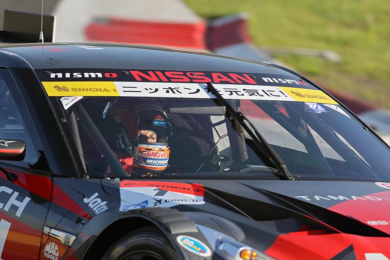 最終スティンとのドライバーを担当したロニー・クインタレッリ選手は、ゴール後ガッツポーズ