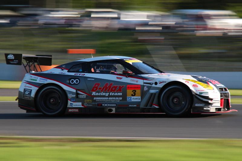 優勝した3号車 B-MAX NDDP GT-R(星野一樹/ヤン・マーデンボロー組)