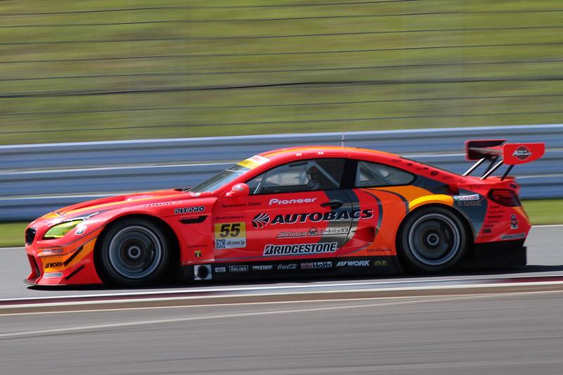 2位は55号車 ARTA BMW M6 GT3(高木真一/小林崇志組)。速さを見せたが、ピットストップ時間が長く、今後の課題もうかがえた