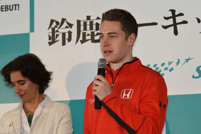 ストフェル・バンドーン選手は2016年のスーパーフォーミュラ開幕戦で3位に入賞した