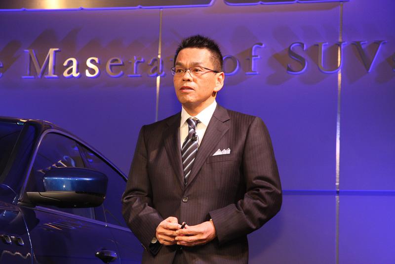 マセラティ ジャパン株式会社 代表取締役社長 牧野一夫氏