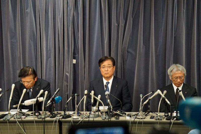 三菱自動車は5月18日に取締役社長兼COOの相川哲郎氏、取締役会長兼CEOの益子修氏らが出席しての記者会見を国土交通省で実施している。その内容については追って紹介したい
