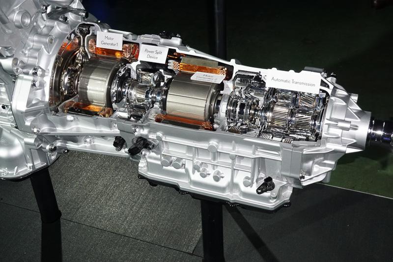 LC500hに採用されたマルチステージハイブリッドシステム