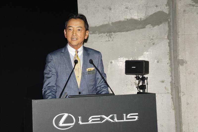 レクサスインターナショナル Presidentの福市得雄氏