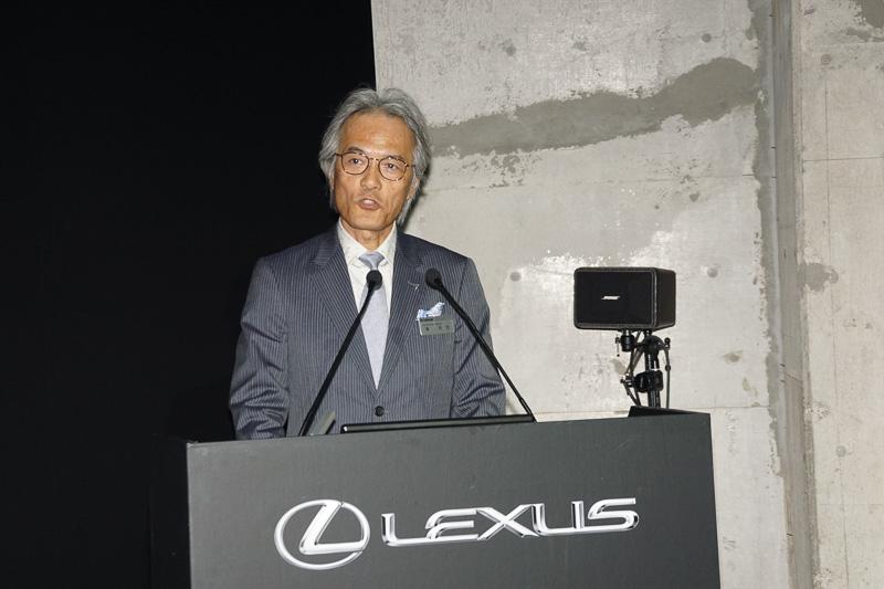営業企画、広報、マーケティング領域を担当するレクサスインターナショナル Executive Vice Presidentの澤良宏氏