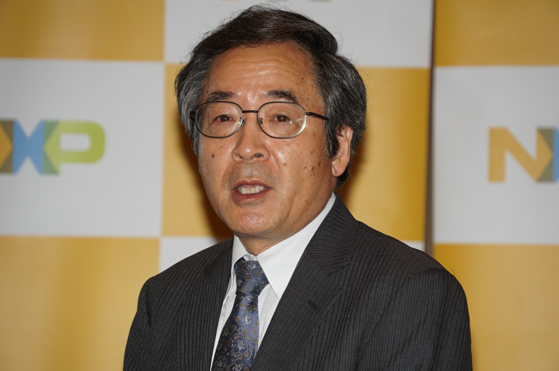 NXPセミコンダクターズジャパン株式会社 第一営業・マーケティング本部長 三木務氏