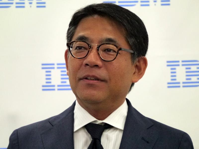 日本IBM 取締役専務執行役員 IBMクラウド事業本部長の三澤智光氏