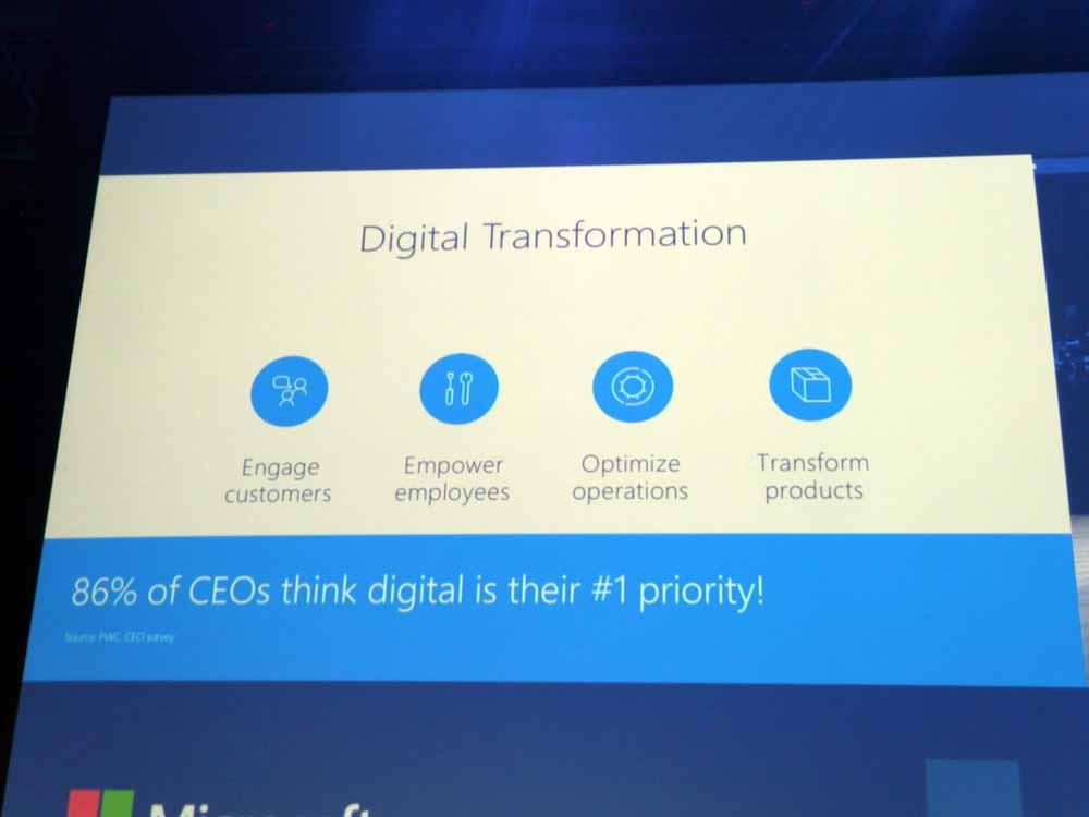 デジタルトランスフォーメーションにおける4つのキーワード