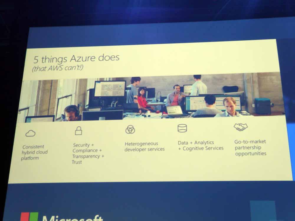 Microsoft AzureとOffice 365の5つの特徴