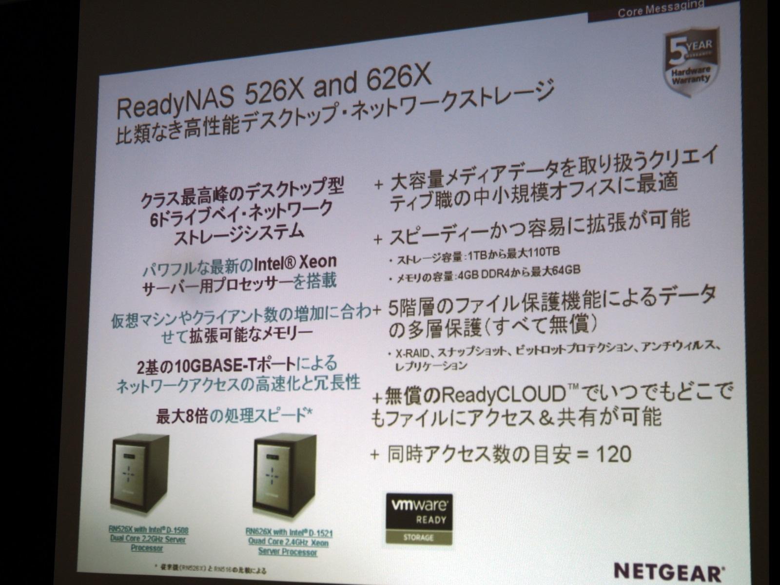 ReadyNAS 526X/626X