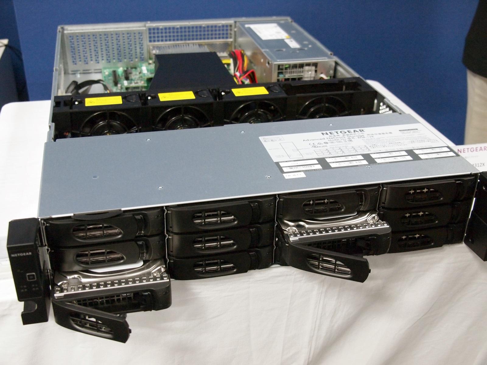 ラックマウント型NAS「ReadyNAS 4312X」