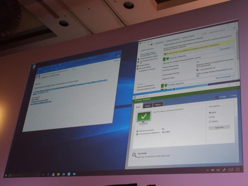 Windows 10のサンドボックス機能によりマルウェアの実行を防ぐデモを披露