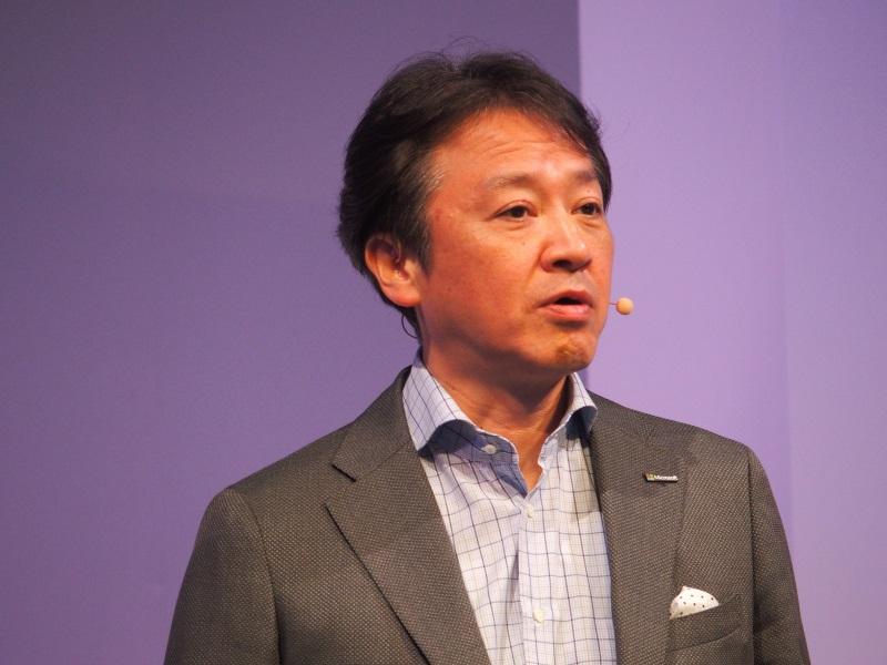 執行役員最高技術責任者(CTO)の榊原彰氏