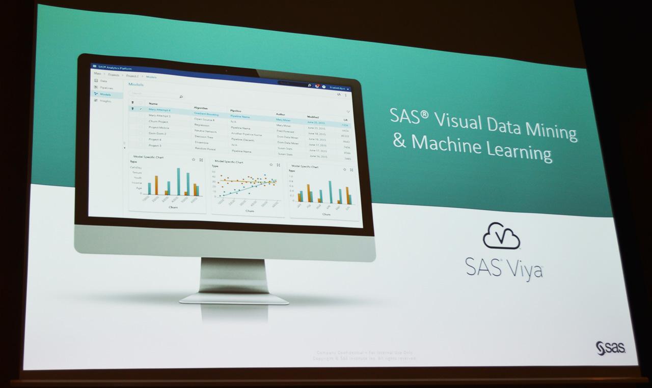 SAS Viyaをプラットフォームとしたマシンラーニングツール「SAS DMML」は、SAS Viya搭載の最初のプロダクトとして国内提供が開始される