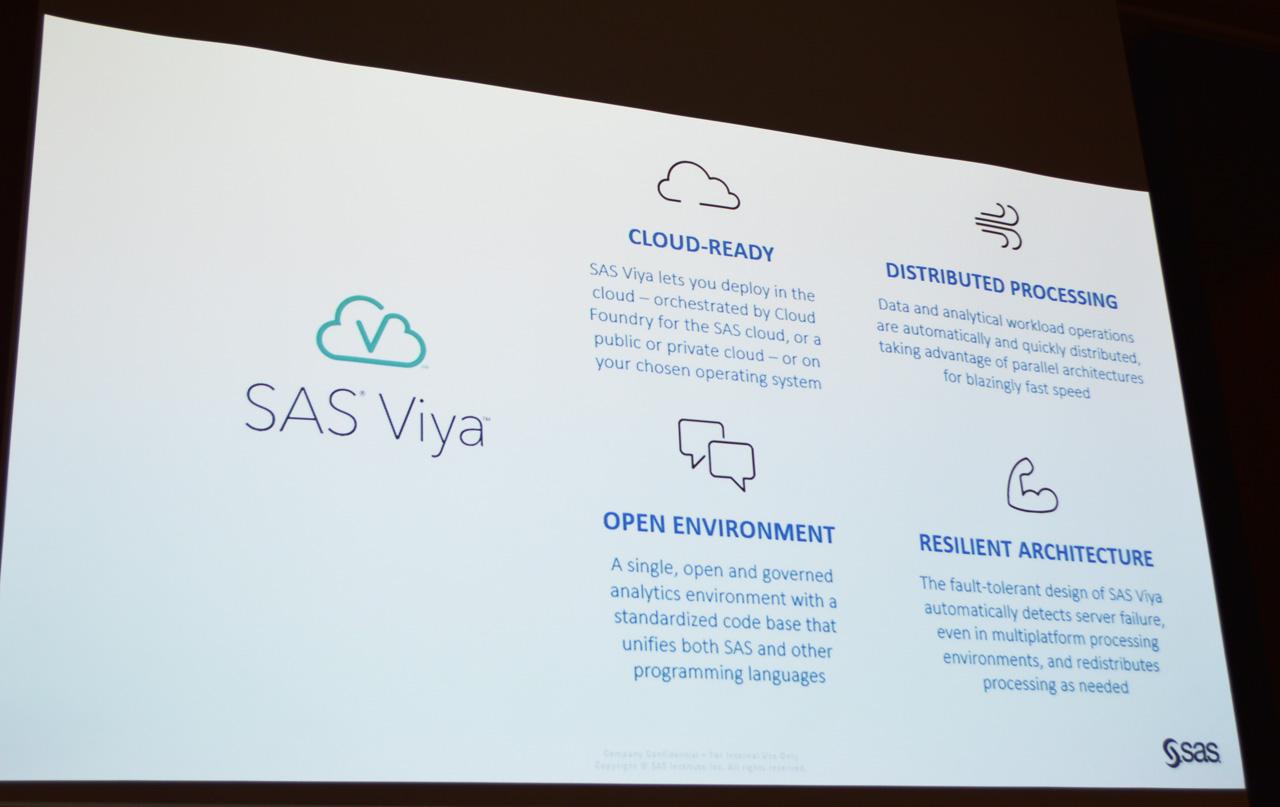 アナリティクスプラットフォームとしてのSAS Viyaの4つの優位性