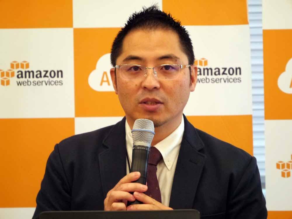 アマゾン ウェブ サービス ジャパン 市場開発本部 事業開発マネージャーの榎並利晃氏