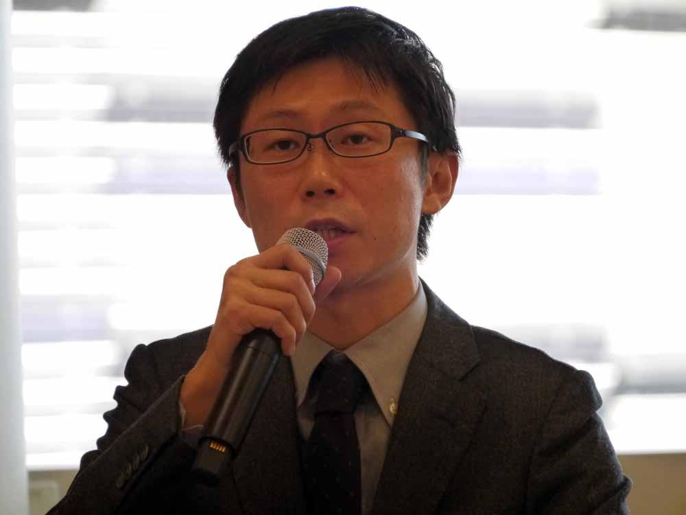 スカイディスク COOの金田一平氏