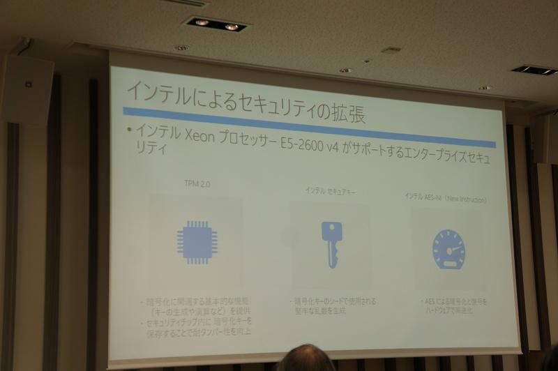 インテルによるセキュリティの拡張