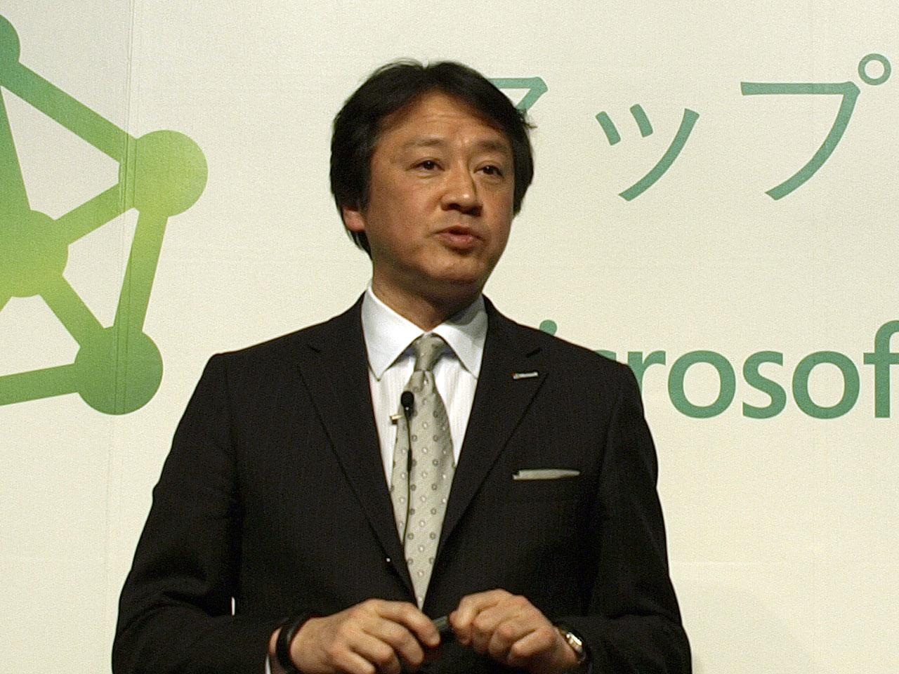 日本マイクロソフト株式会社執行役員最高技術責任者の榊原彰氏