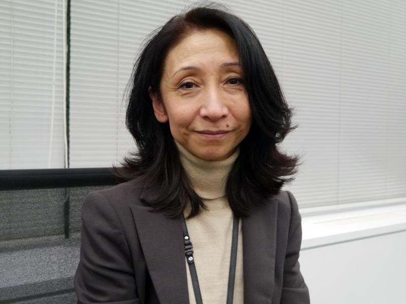 日本IBM 人事 システム事業担当の花田尚美部長