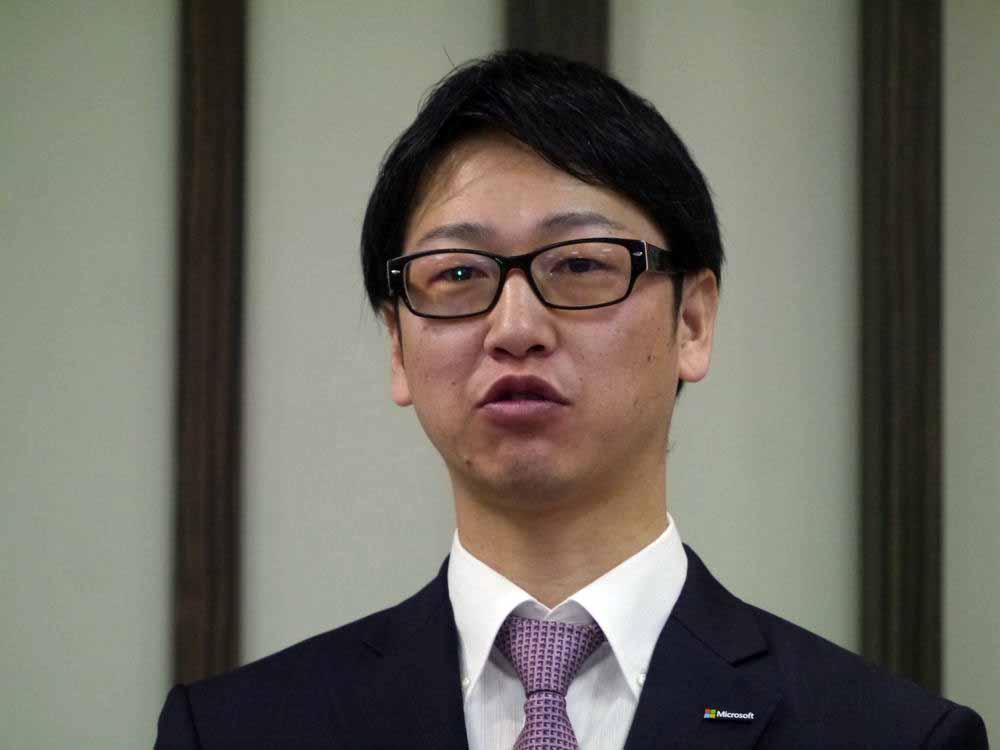 日本マイクロソフト 業務執行役員 パートナービジネス推進統括本部の浅野智統括本部長