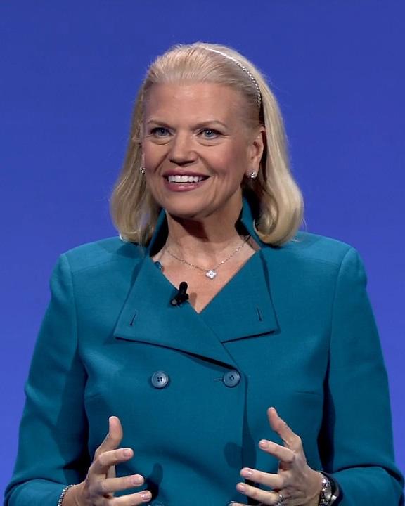 米IBMのジニー・ロメッティ会長兼社長兼CEO